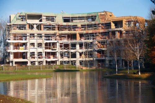 domein De Steelander - bouwfoto's - Harelbeke