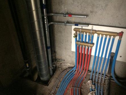 Residentie 4 - plaatsing verwarmingcollectors