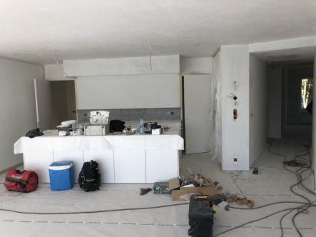 installatie keuken