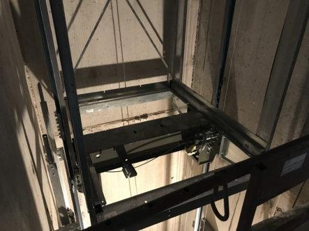 installatie Schindler lift in residentie 4