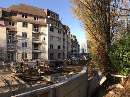 aanleg bestrating en parkeerzone ter hoogte van residentie 4